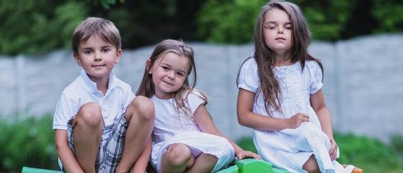 Sesja dziecięca Tosi Tymka i Weroniki